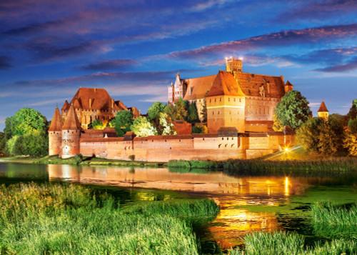 Malbork Castle, Poland - 1000pc Jigsaw Puzzle By Castorland