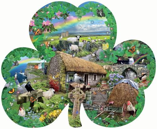Shaped Jigsaw Puzzles - Irish Charm