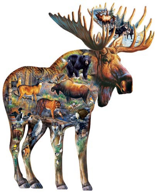 Shaped Jigsaw Puzzles - Walk on the Wild Side