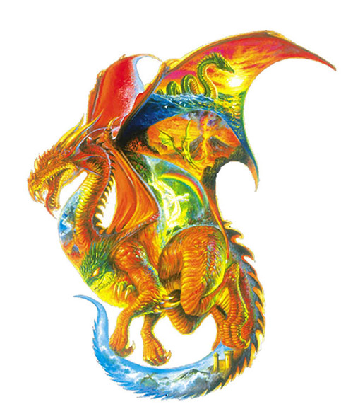 Dragon Dreams - 1000pc Shaped Jigsaw Puzzle By Sunsout