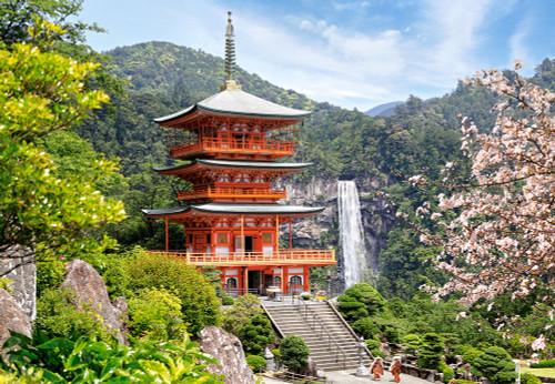 Seiganto-ji-Temple - 1000pc Jigsaw Puzzle By Castorland