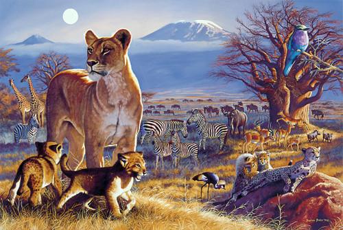 Tomax Jigsaw Puzzles - Kilimanjaro Twilight