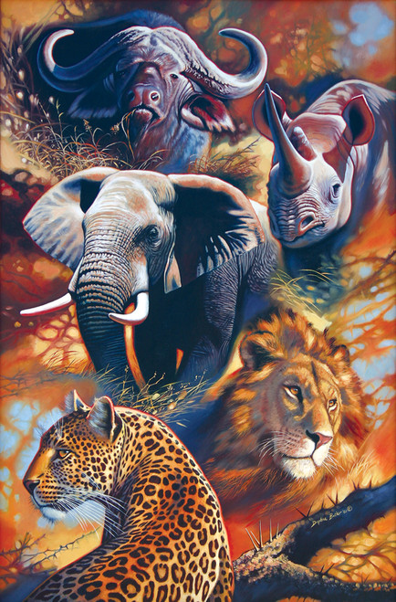 Tomax Jigsaw Puzzles - The Big Five