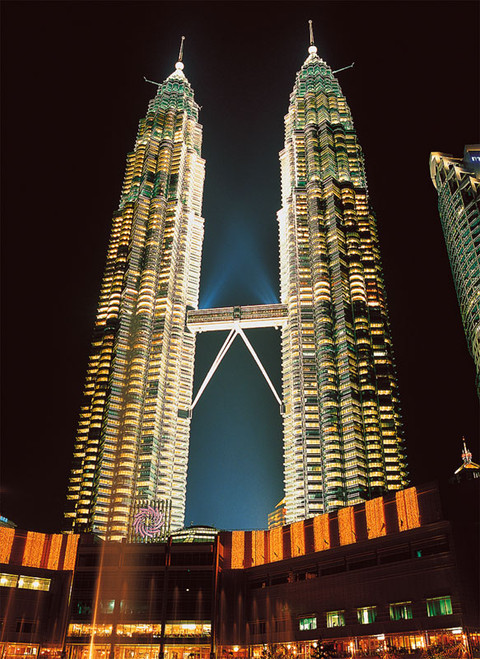 Tomax Jigsaw Puzzles - Twin Towers, Malaysia
