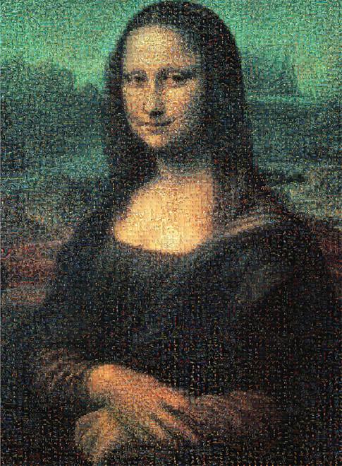 Tomax Jigsaw Puzzles - Mona Lisa Mosaic