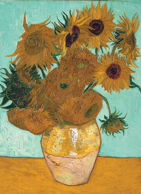Tomax Jigsaw Puzzles - Vase with Twelve Sunflowers