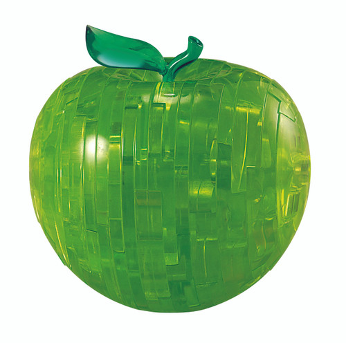 BePuzzled Apple Green 3D Crystal Puzzle