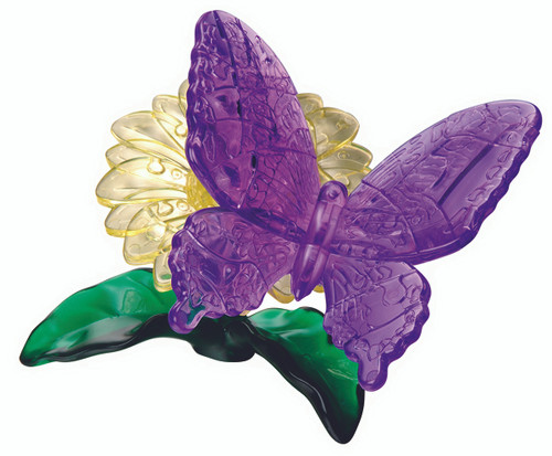 BePuzzled Butterfly 3D Crystal Puzzle