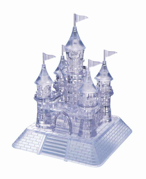 BePuzzled Castle 3D Crystal Puzzle