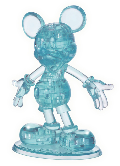 BePuzzled Mickey Mouse II Blue 3D Crystal Puzzle