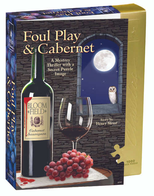 BePuzzled Foul Play & Cabernet Jigsaw Puzzle