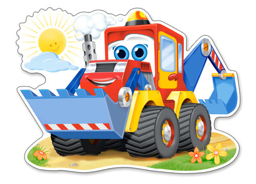 Funny Digger - 12pc Jigsaw Puzzle By Castorland (discon-24165)