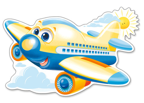 Sunny Flight - 12pc Jigsaw Puzzle By Castorland (discon-24166)