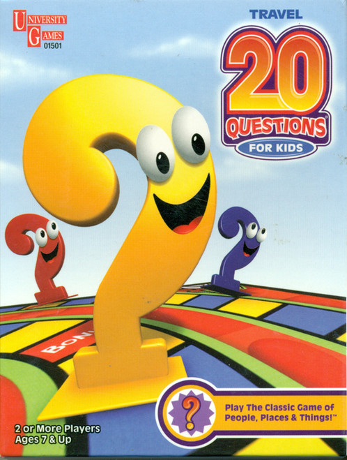 Card Games - 20 Questions for Kids