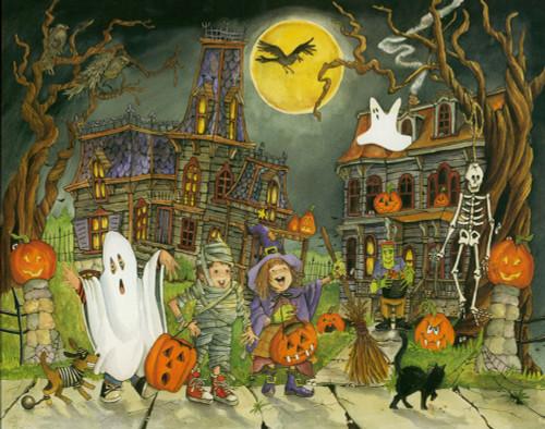 Halloween Puzzles - Little Goblins