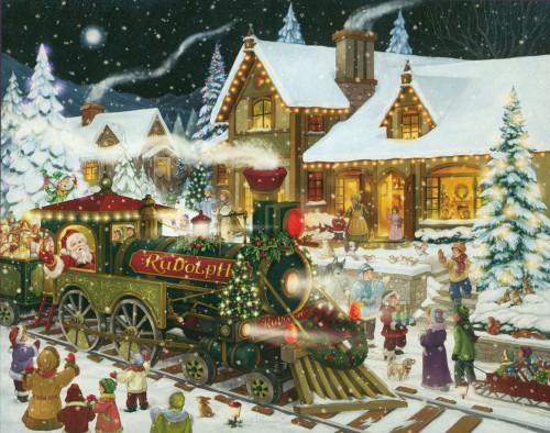 Christmas Puzzles - Santa's Express