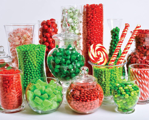 Christmas Puzzle - Candy Buffet