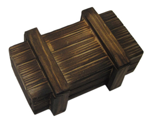 Money Puzzle - Seriously Secret Treasure Box: Classic Wood