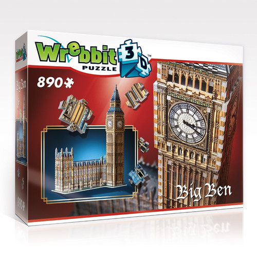 Wrebbit Big Ben 3D Puzzle