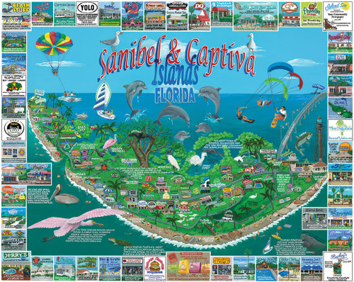 White Mountain Sanibel & Captiva Jigsaw Puzzle
