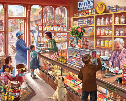 The Old Candy Store Jigsaw Puzzle