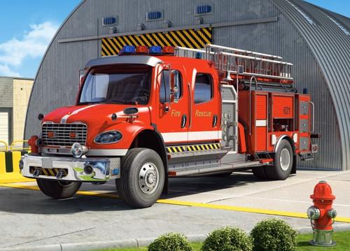 Fire Engine - 120pc Jigsaw Puzzle By Castorland