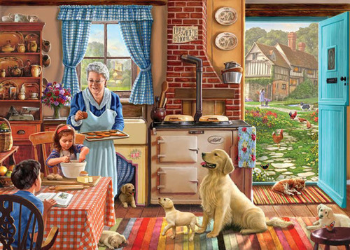 Home Sweet Home - 1000pc Jigsaw Puzzle by White Mountain