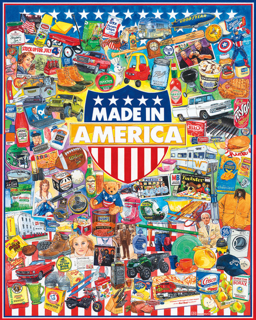 Made In America - 1000pc Jigsaw Puzzle By White Mountain