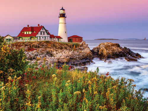 Lighthouses - 1000pc Jigsaw Puzzle by White Mountain