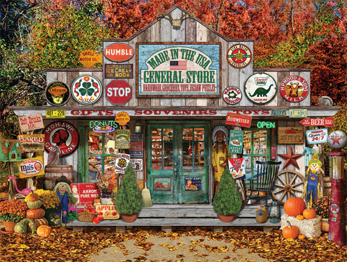 General Store-Made in USA - 1000pc Jigsaw Puzzle by White Mountain