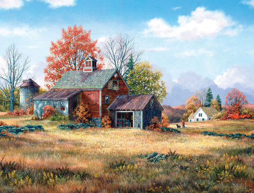 Afternoon Walk - 1000pc Jigsaw Puzzle By White Mountain