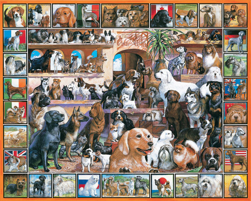 Jigsaw Puzzles - World of Dogs