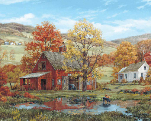 Jigsaw Puzzles - Friends in Autumn