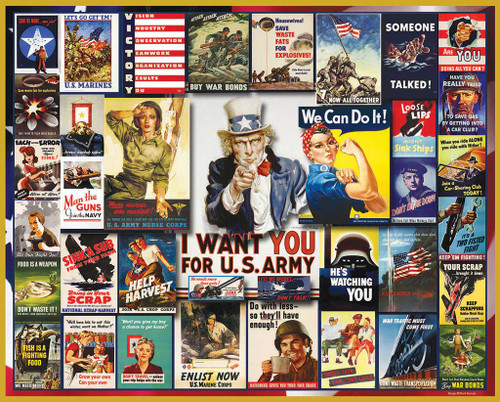 Jigsaw Puzzles - WWII Posters