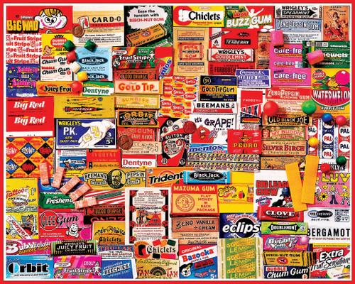 Jigsaw Puzzles - Gum Wrappers