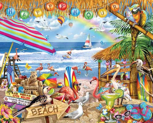 Jigsaw Puzzles - Happy Hour