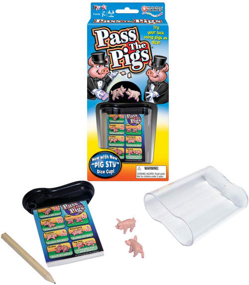 Pass The Pigs - Classic Party Game (updated version)