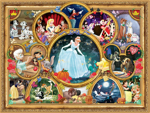 Disney: Classic Collage - 1500pc Jigsaw Puzzle by Ceaco
