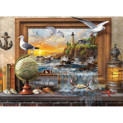 Marine to Life - 1000pc Jigsaw Puzzle by Anatolian