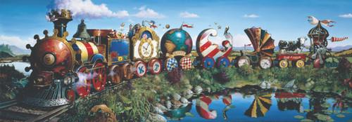 Story Train - 1000pc Jigsaw Puzzle by Anatolian