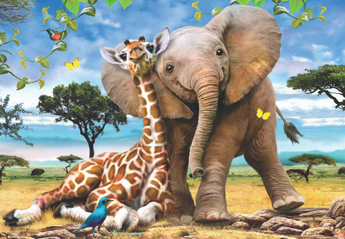 Best Pals - 260pc Jigsaw Puzzle by Anatolian