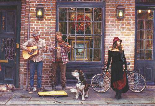 The Sight and Sounds of New Orleans - 2000pc Jigsaw Puzzle by Anatolian