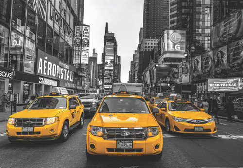 New York Taxi - 2000pc Jigsaw Puzzle by Anatolian