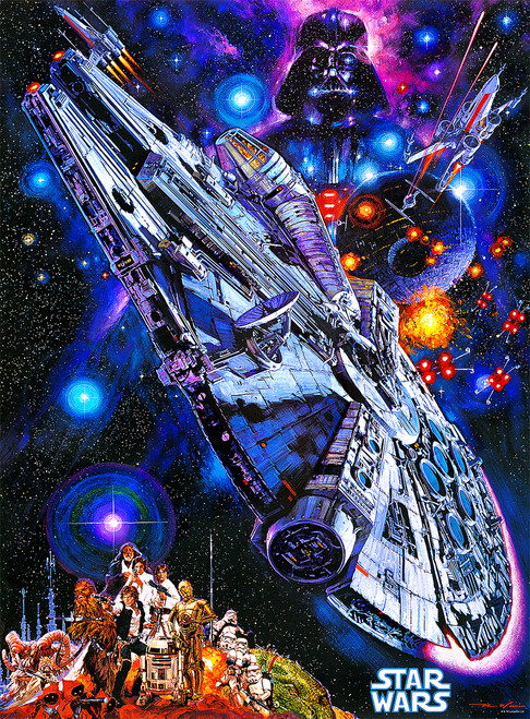 Star Wars:  You're All Clear, Kid - 1000pc Jigsaw Puzzle By Buffalo Games
