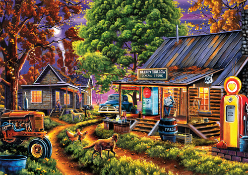 Geno Peoples: The General Store - 300pc Large By Buffalo Games