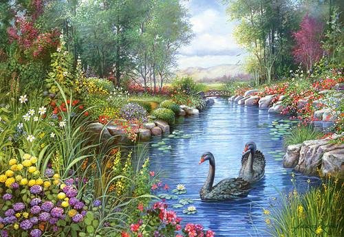 Jigsaw Puzzles - Black Swans