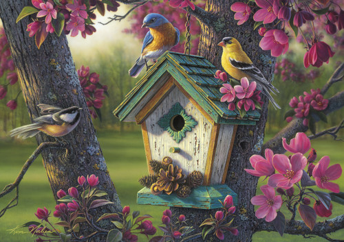 Springtime Beauty - 300pc Large Format Jigsaw Puzzle By Buffalo Games
