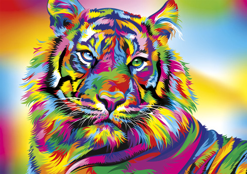 Tiger Stripes - 300pc Jigsaw Puzzle By Buffalo Games
