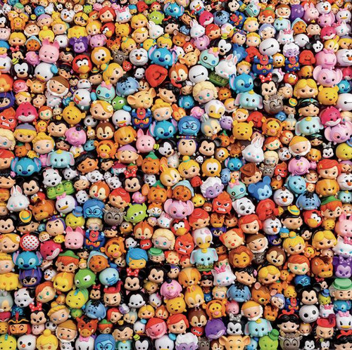 Disney: TSUM TSUM Toys - 300pc Large Format Jigsaw Puzzle by Ceaco