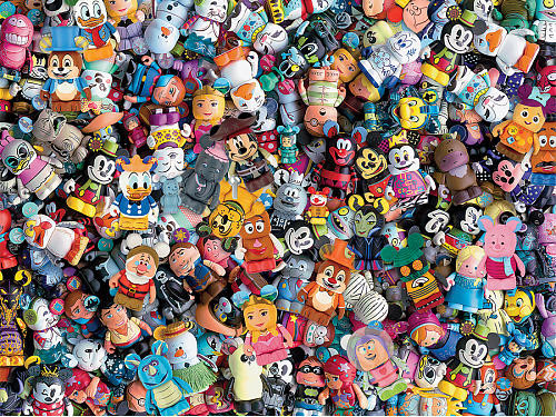 Disney: Vinylmation - 750pc Jigsaw Puzzle by Ceaco